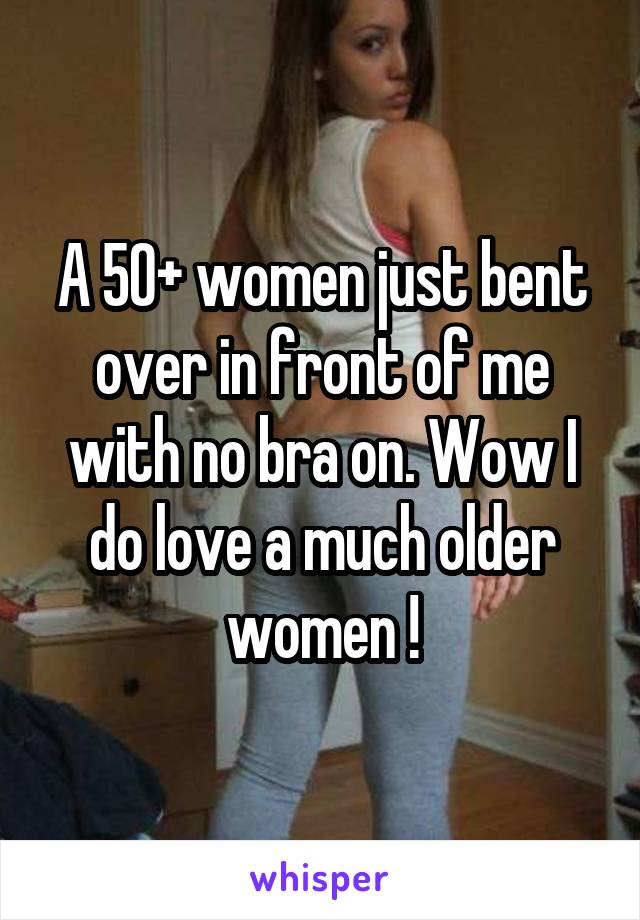 Older women bent over