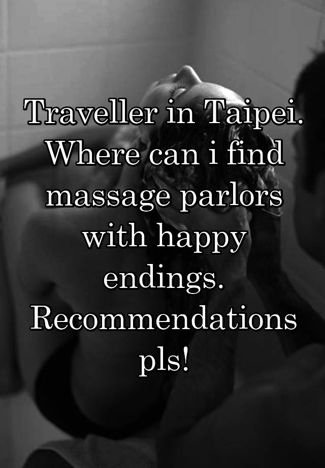 find massage with happy ending