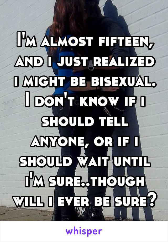 How do i know if i might be bisexual