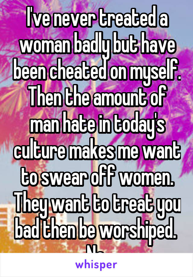 women who have been cheated on
