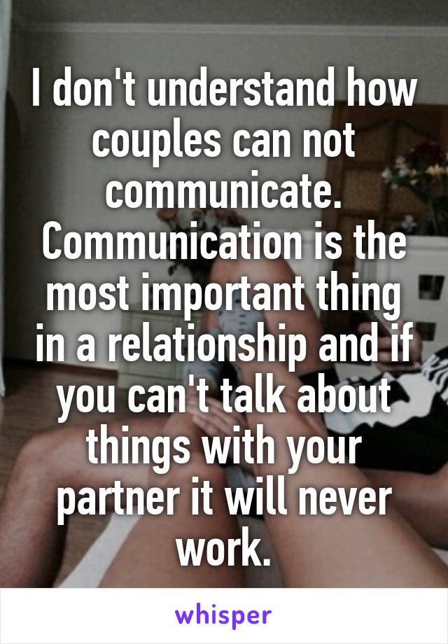 Three Most Important Things In A Relationship