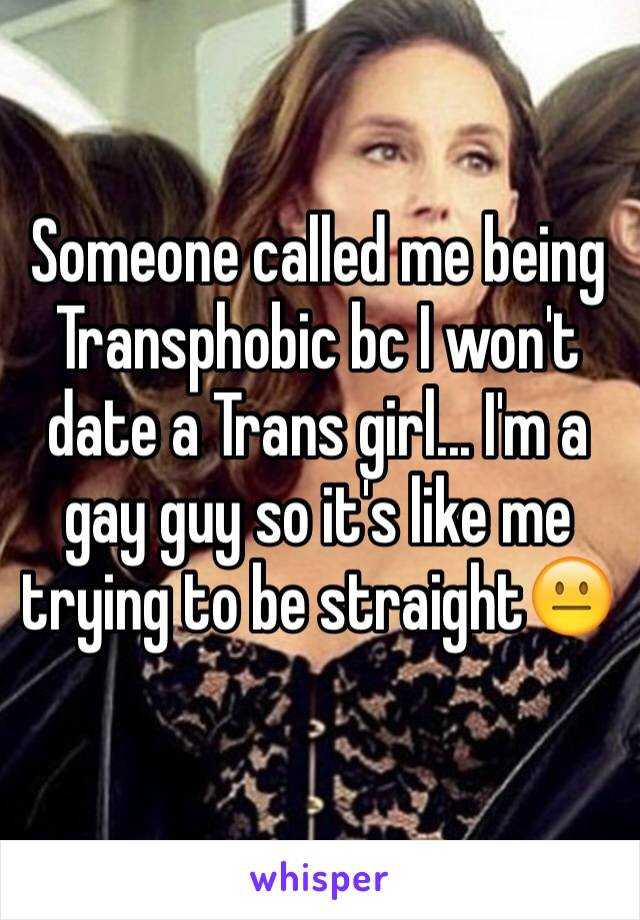 straight girl dating gay guy