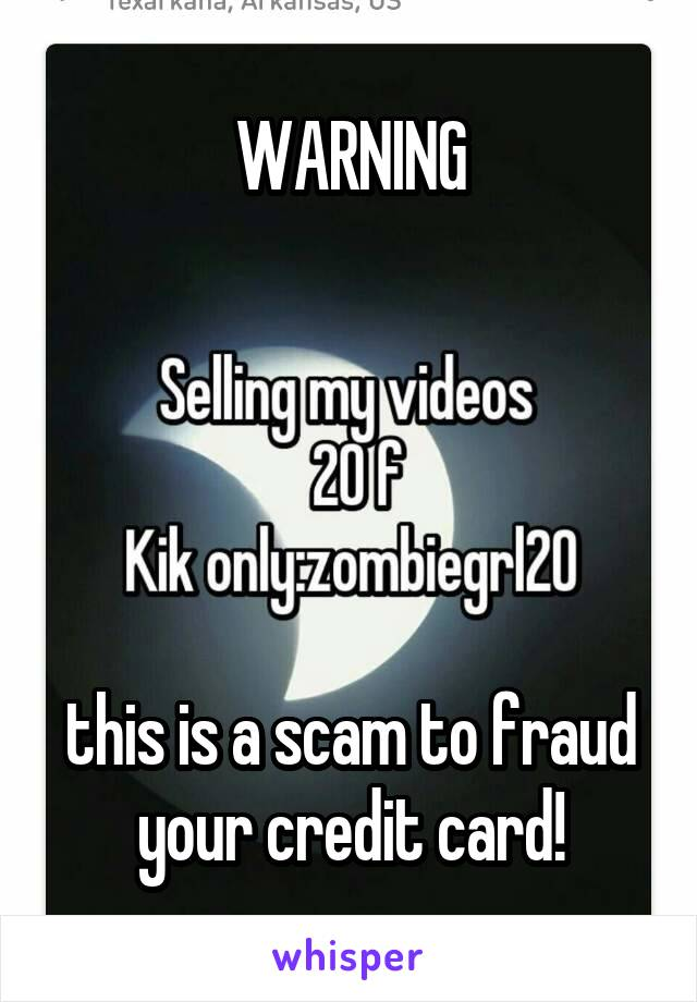 WARNING      this is a scam to fraud your credit card!