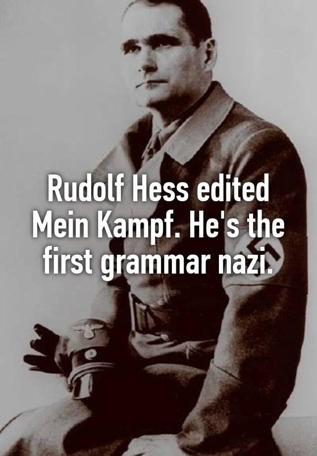 first grammar nazi