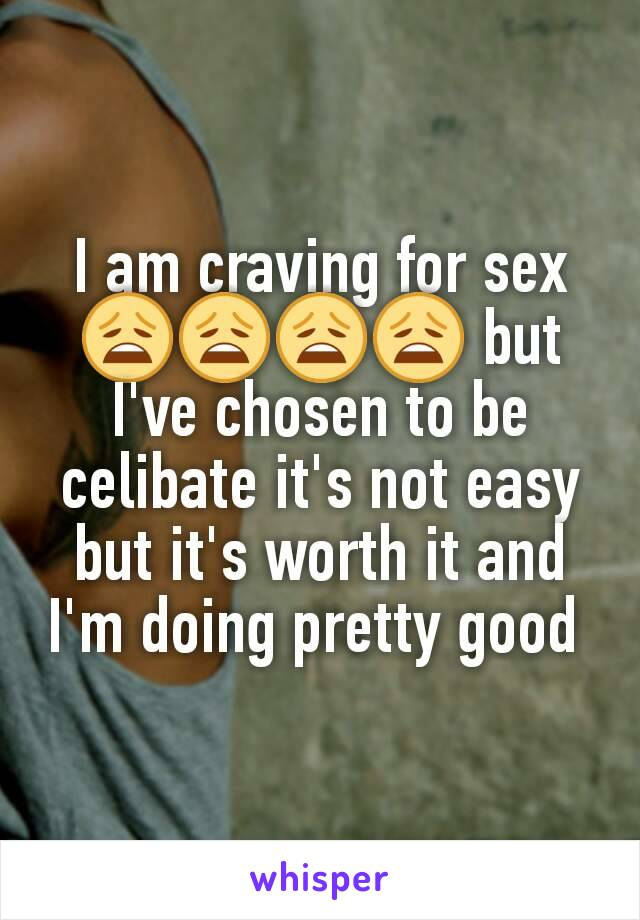 Why am i craving sex