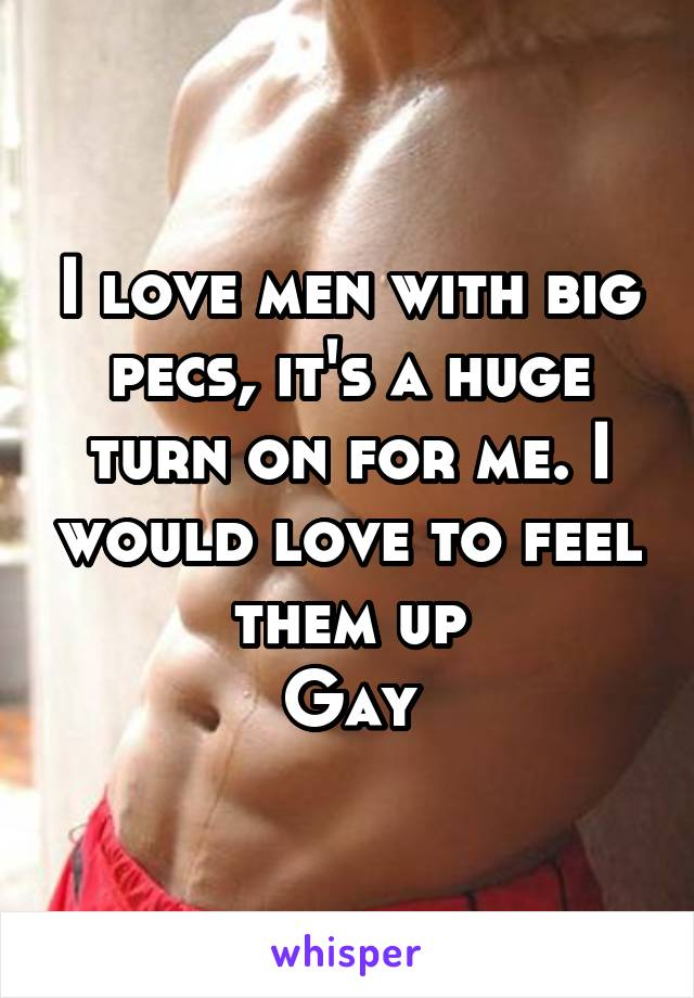 Gay muscle men with big pecs