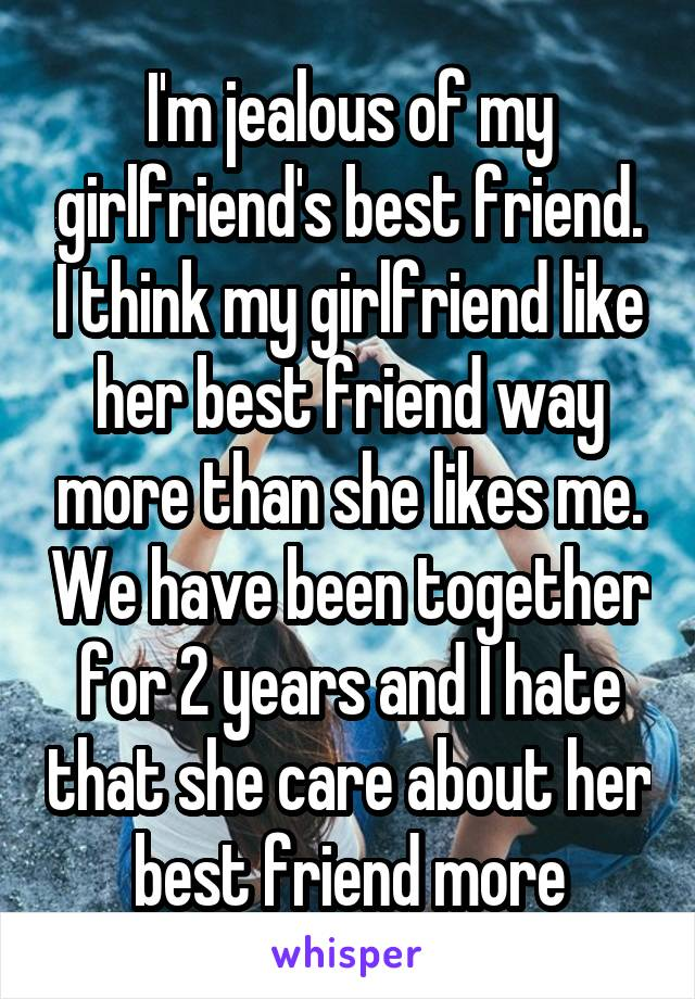 Think, girlfriend s best friend think, that