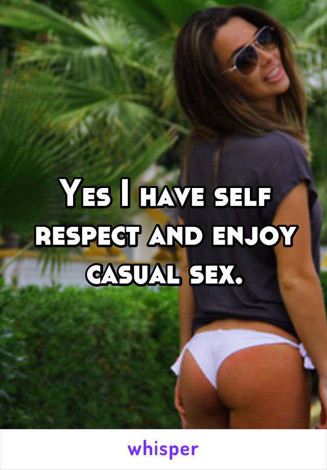 How to enjoy casual sex