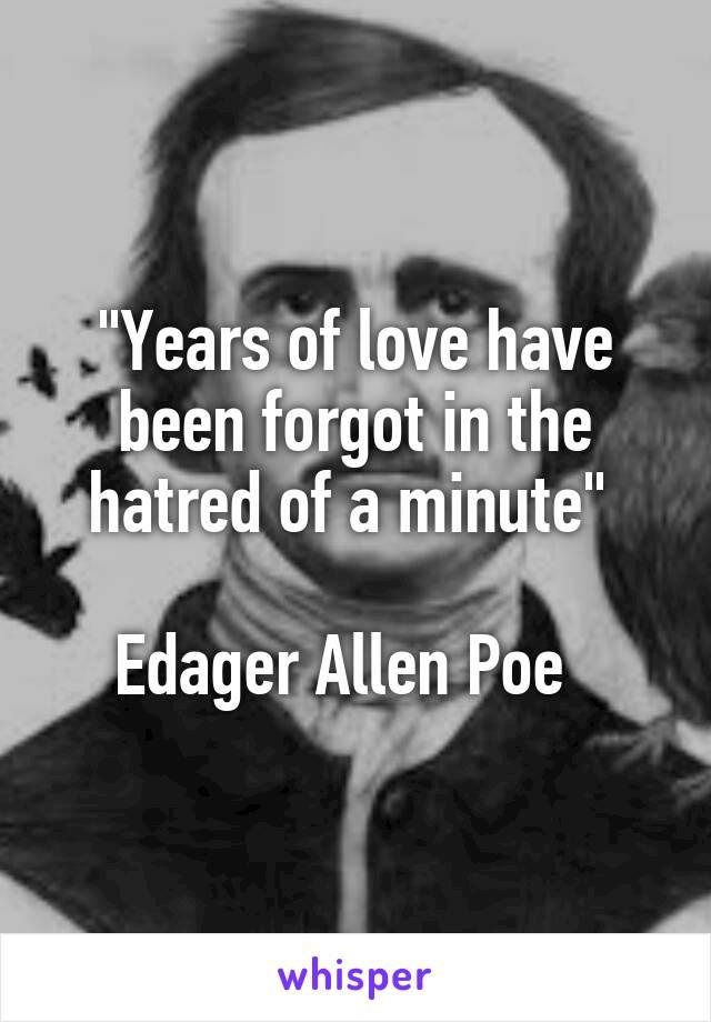Hatred Poe