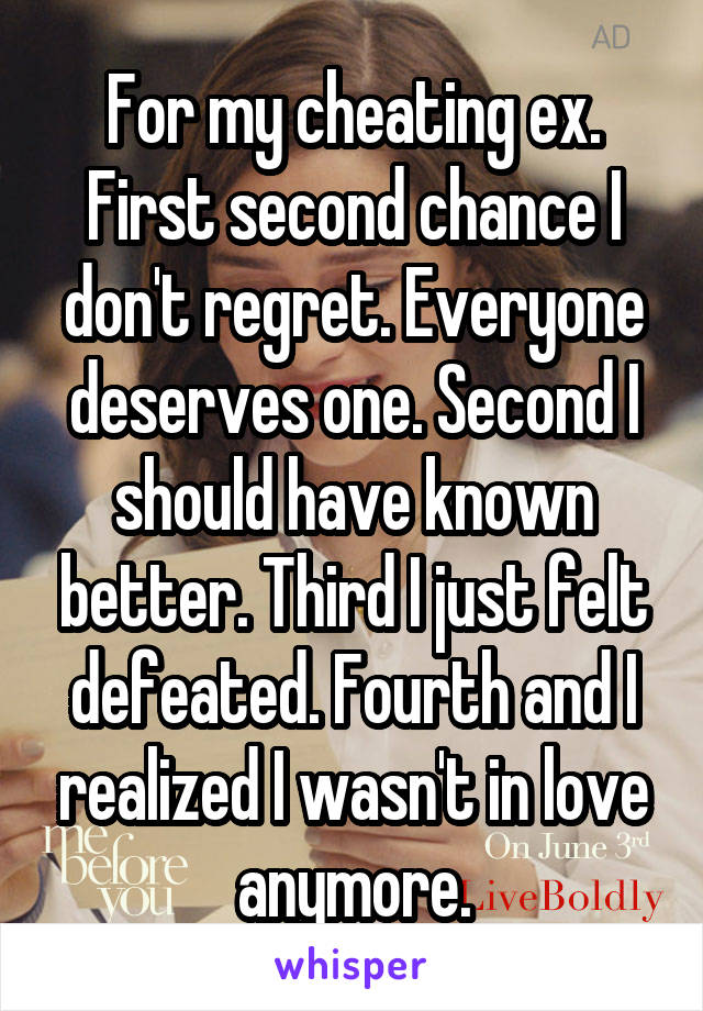 Confessions From People That Gave Someone A Second Chance