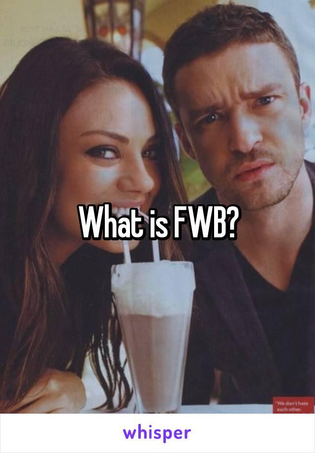What is fwb