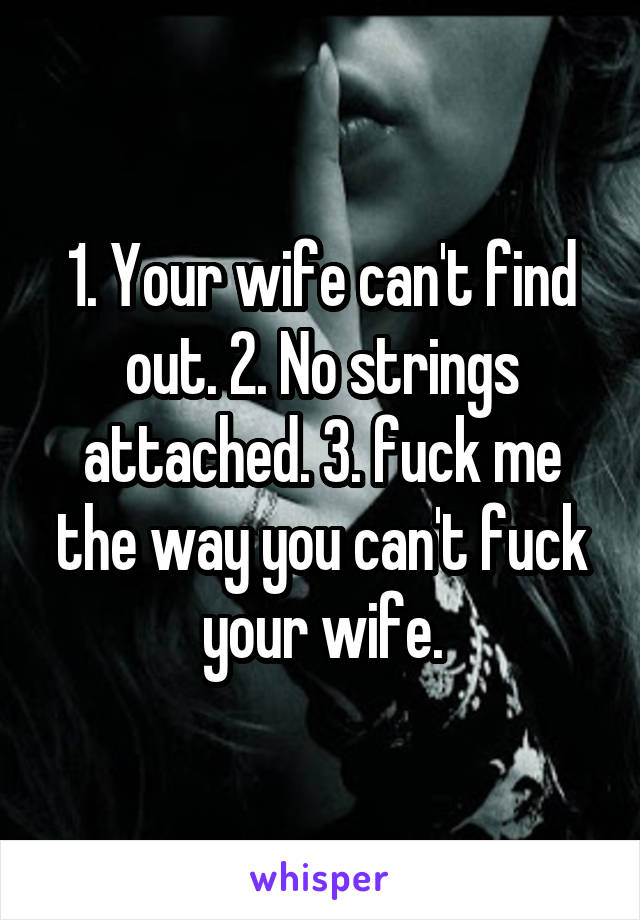 The best way to fuck your wife