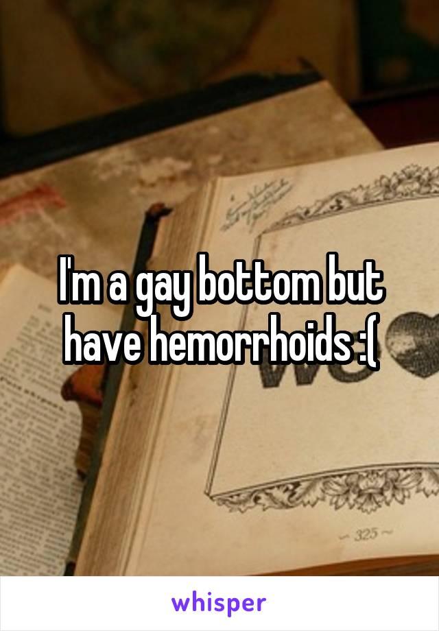 Gay hemorrhoids