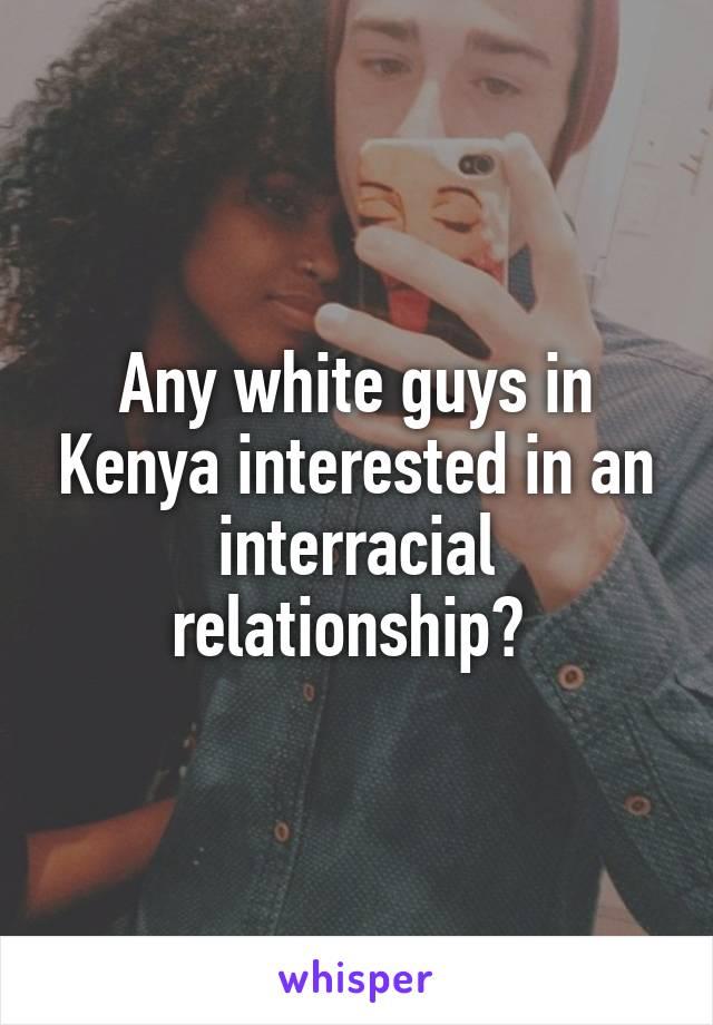 White guys in kenya