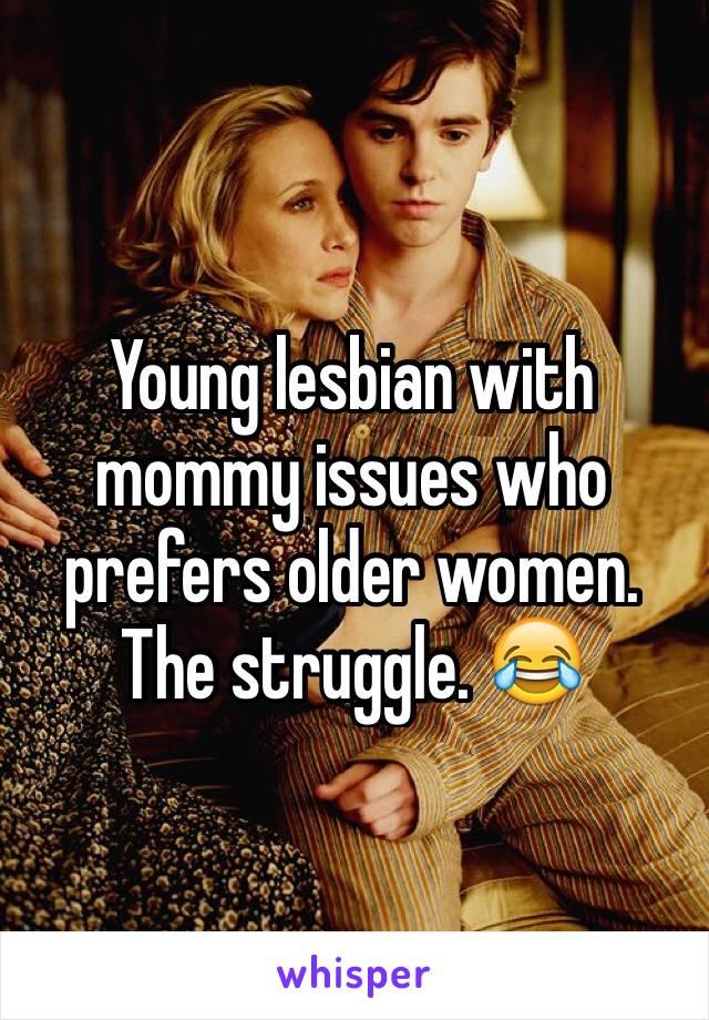 Lesbians ypunger women older