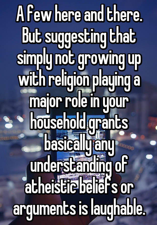 will religion play a major role