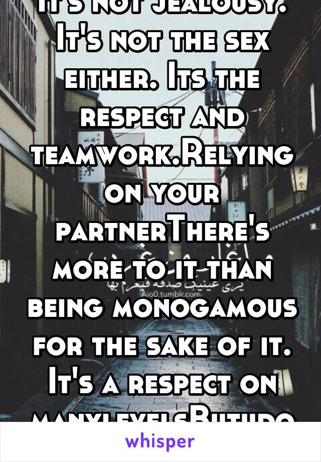team work in sex