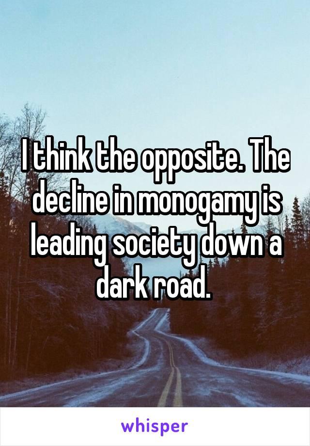 opposite of monogamy
