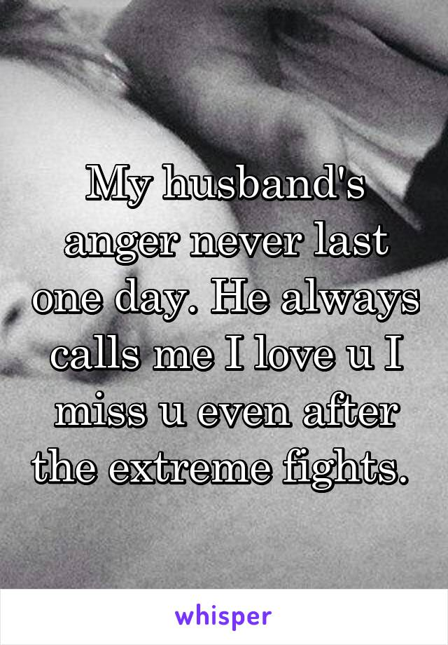 Miss u husband