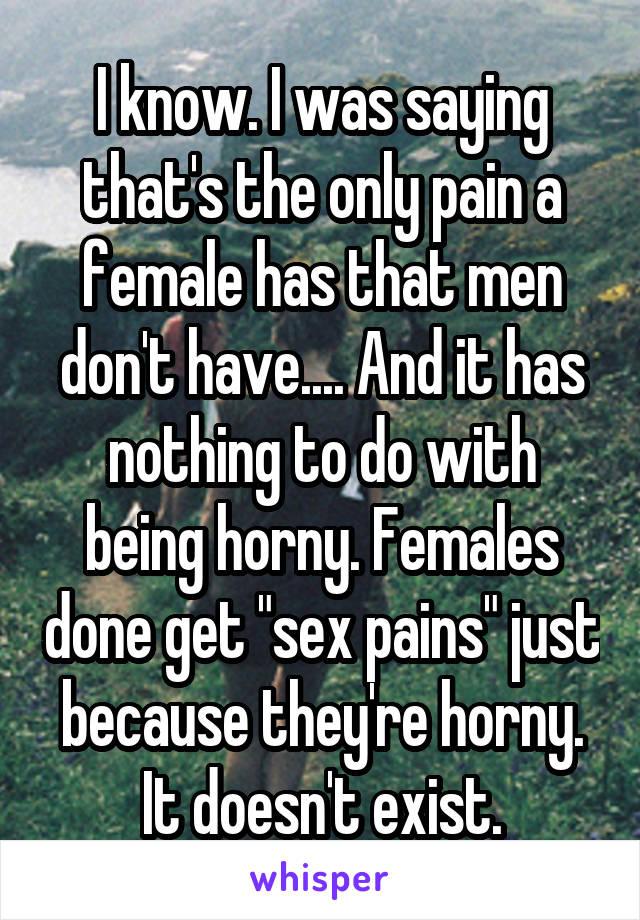 why do men get horny