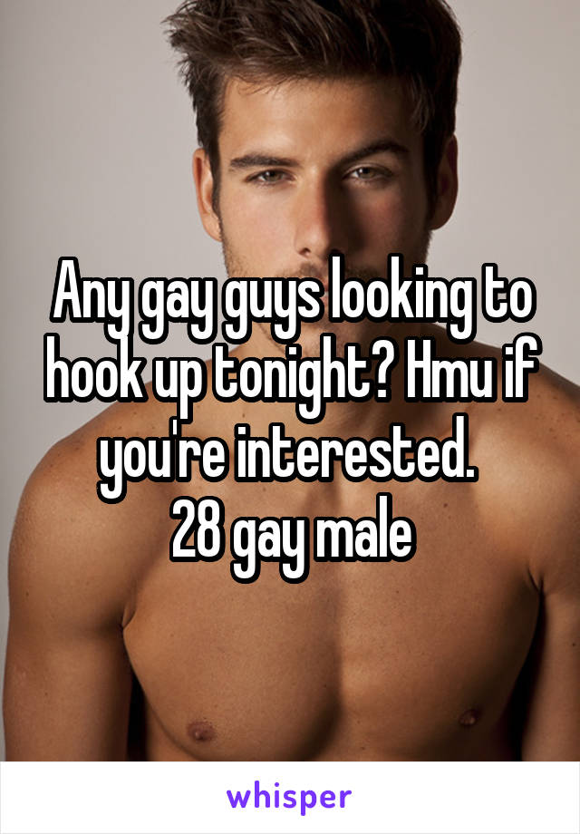 How do you know if youre hookup a gay guy