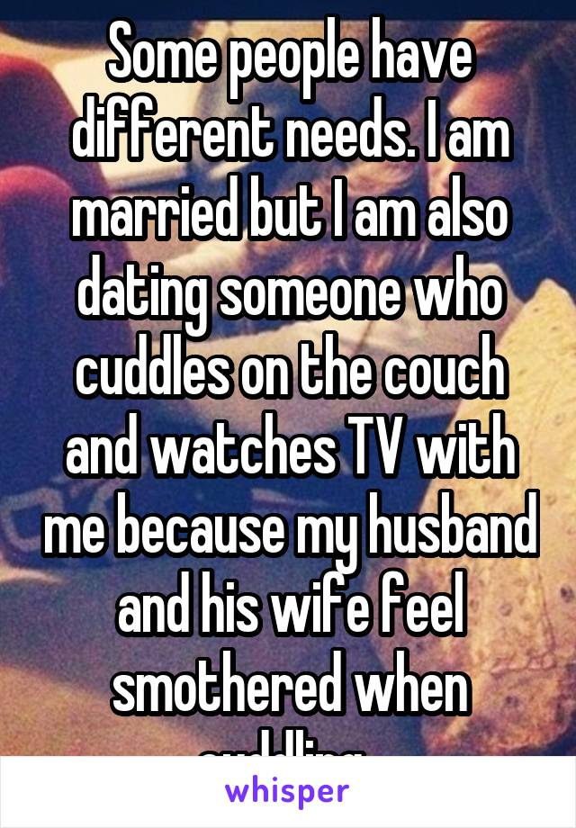 im dating someone and i am married