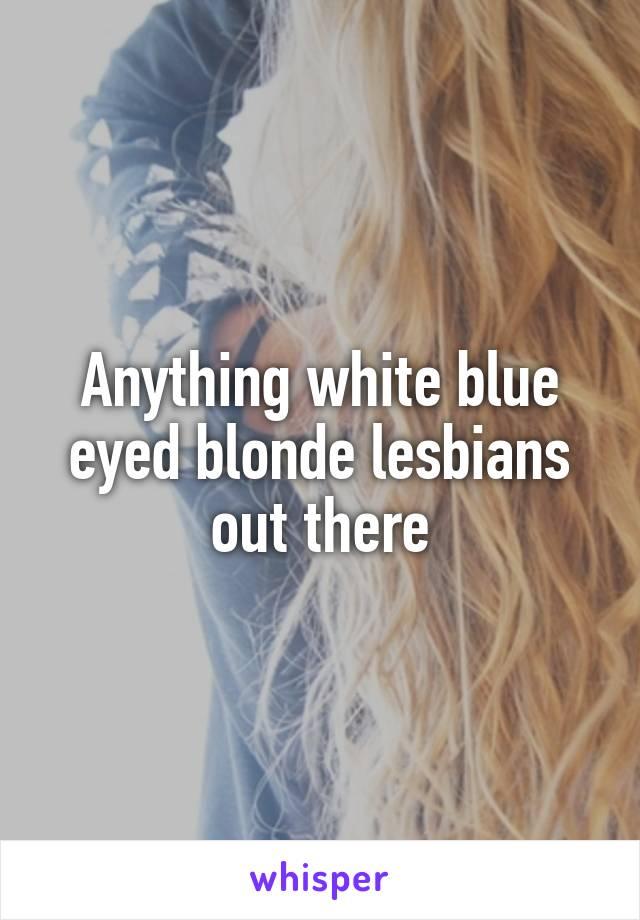 3 blonde lesbians
