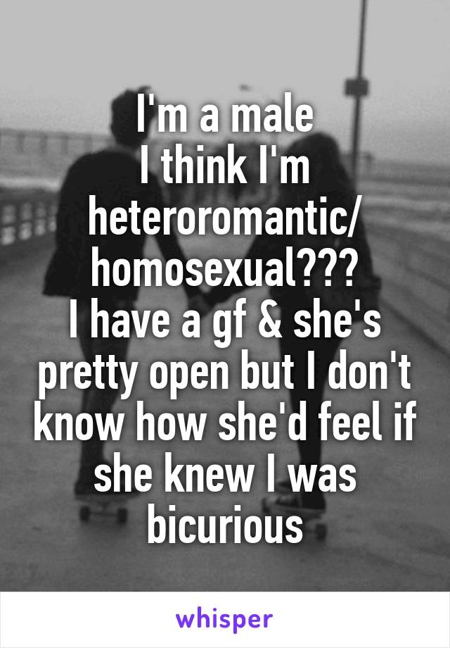 Heteroromantic but homosexual