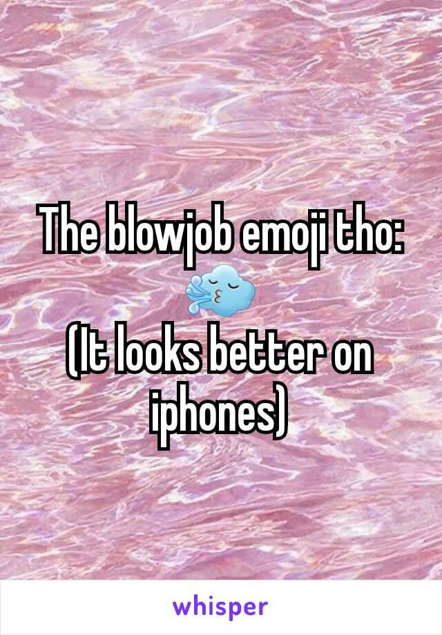 Blowjob emoji