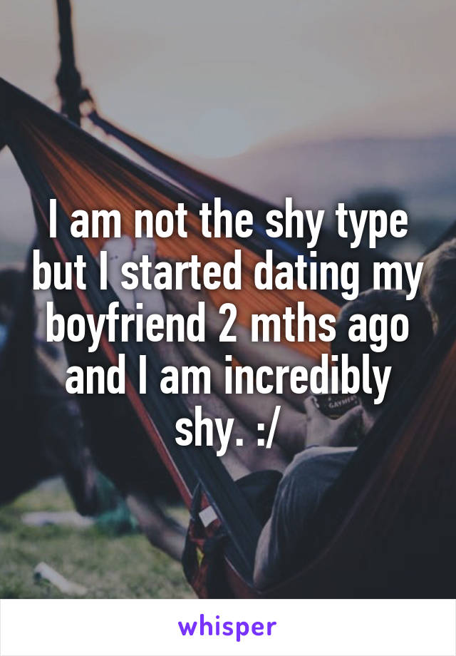 i am not the dating type