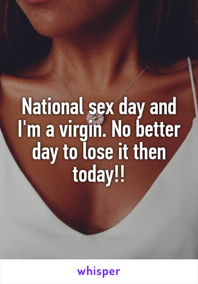 Happy national sex day