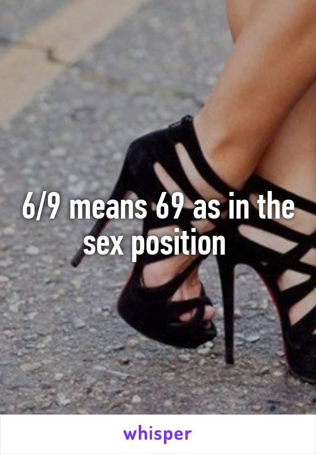 The 69 As Sex Drcobex In Means Position fgyb67