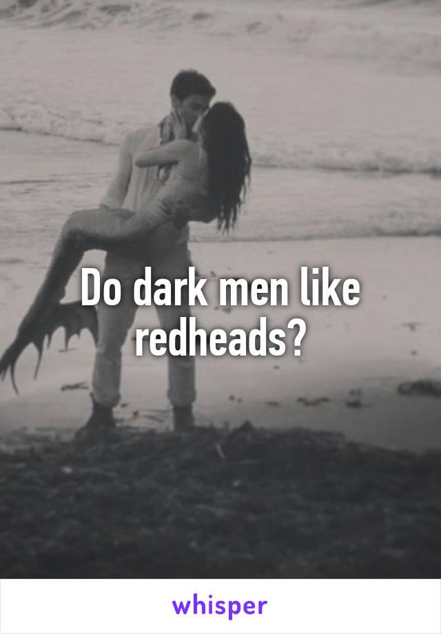 men who like redheads