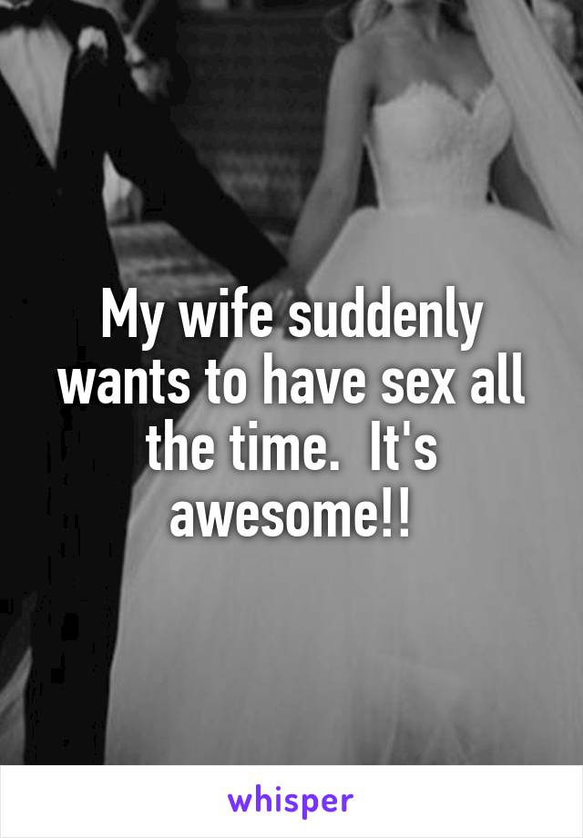 Awesome sex with wife agree, remarkable