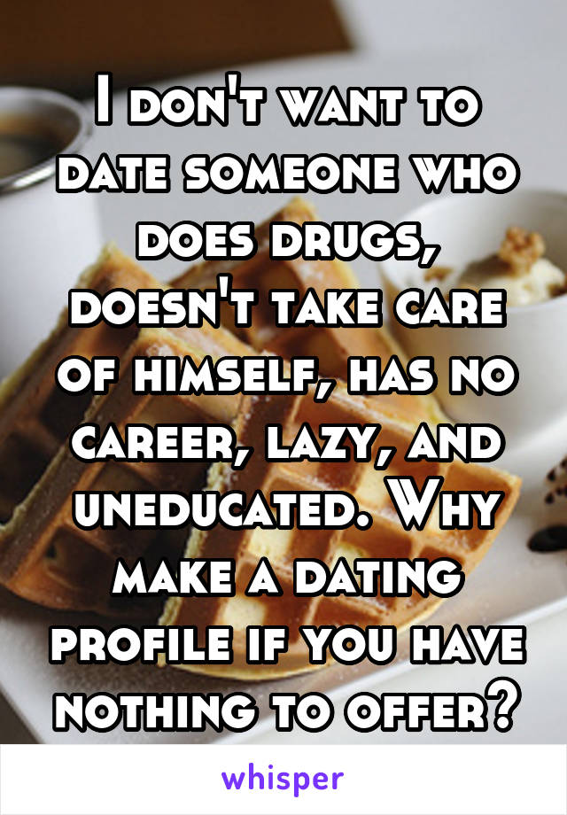 dating someone who does drugs
