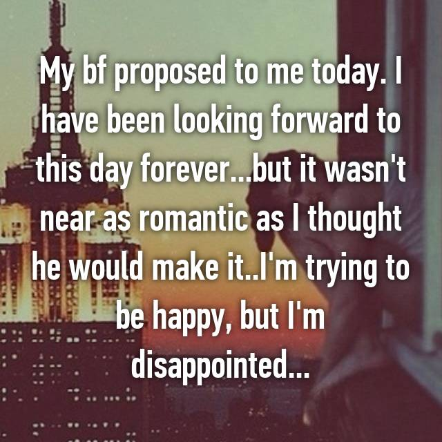 Women Tell All What I Was Really Thinking When My Boyfriend Proposed