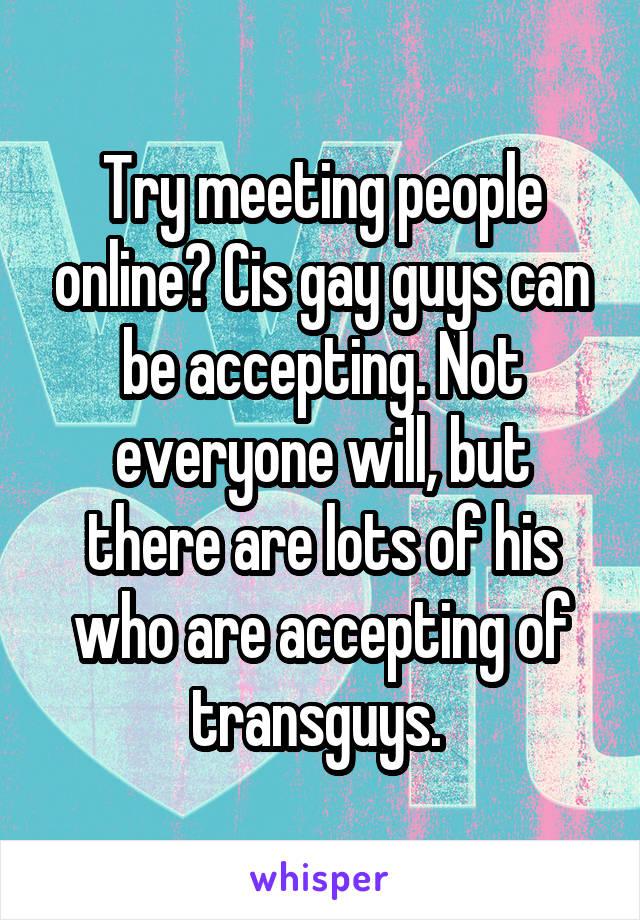 how to meet gay guys not online