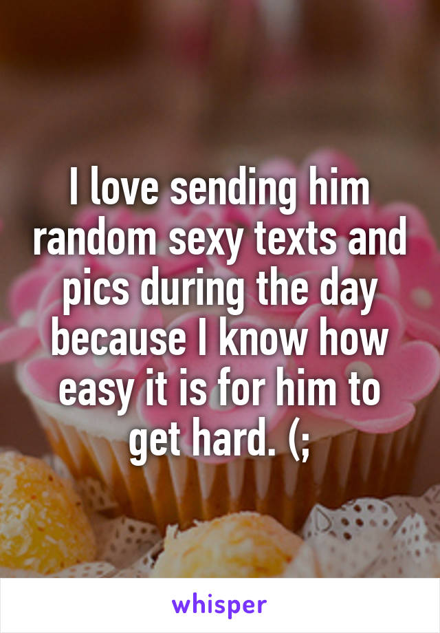sending sexy texts