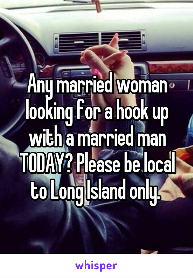 local hook up married