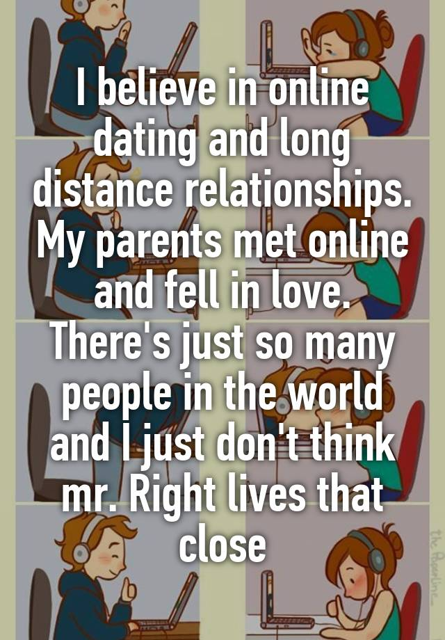 online dating long distance relationships