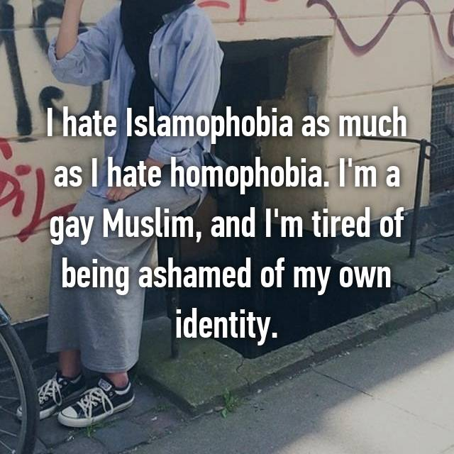 I hate Islamophobia as much as I hate homophobia. I'm a gay Muslim, and I'm tired of being ashamed of my own identity.