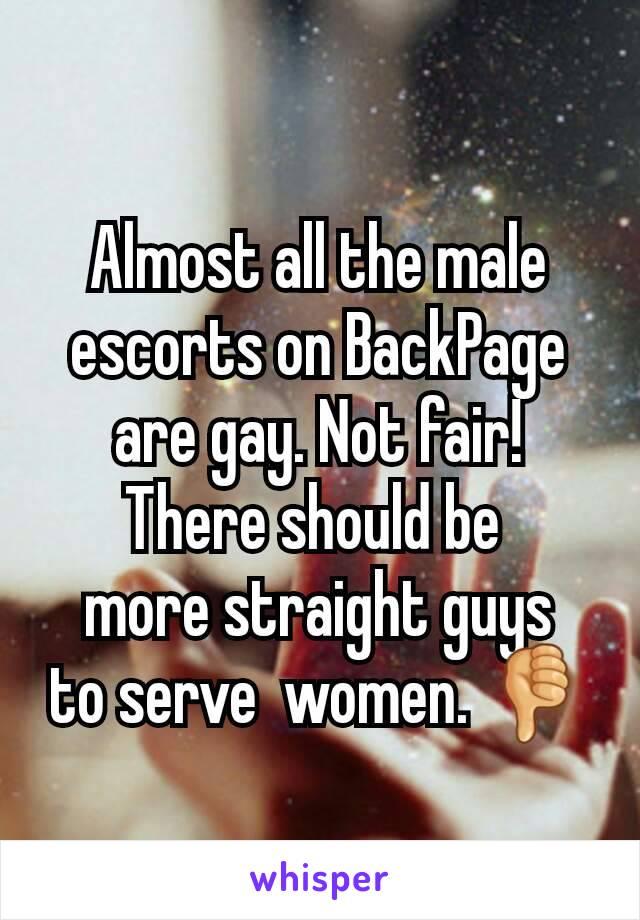 gay backpage escort