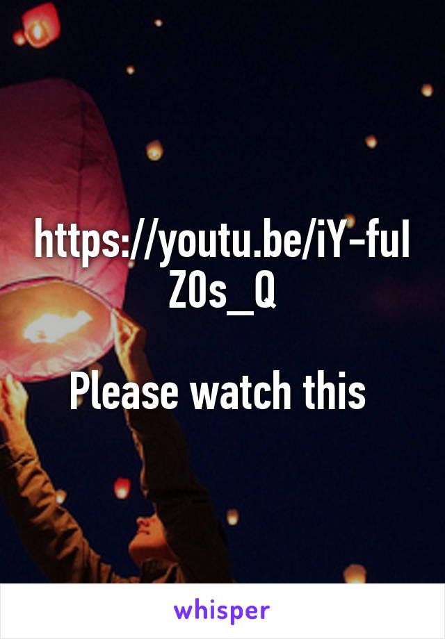 https://youtu.be/iY-fuIZ0s_Q  Please watch this
