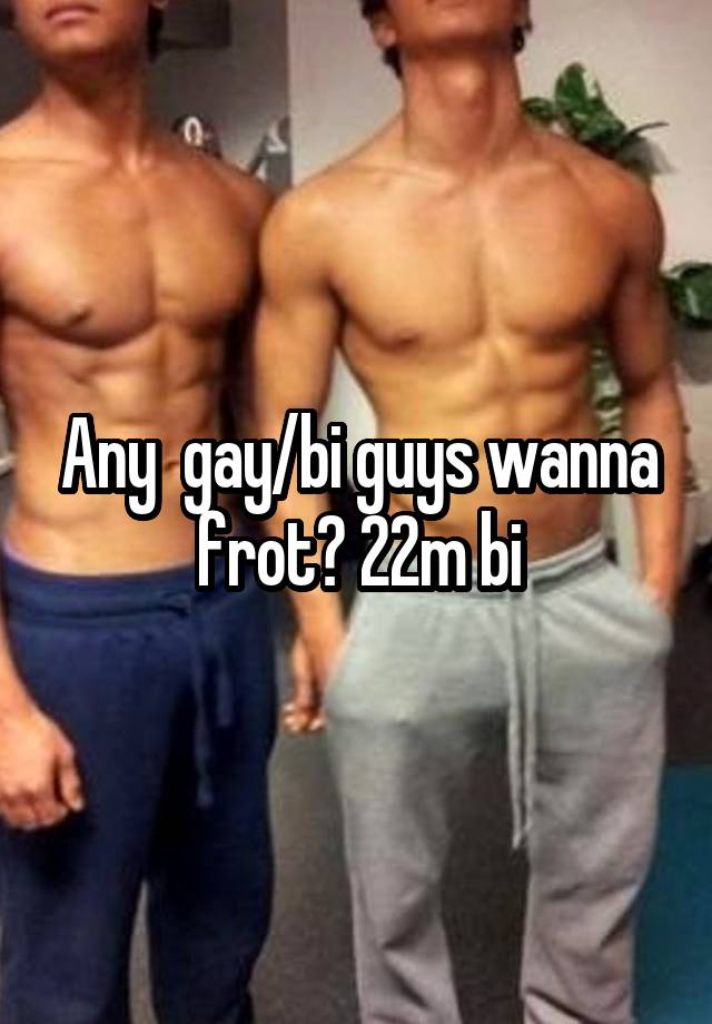 men Frot gay