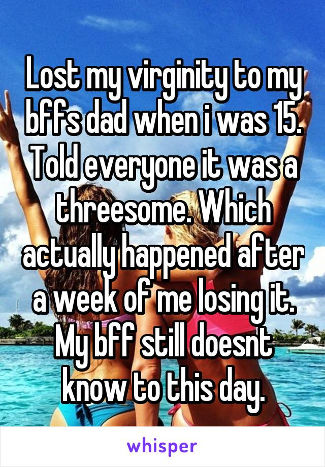 Her ass losing virginity to dad