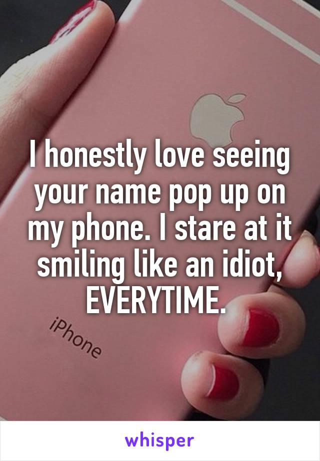 Pop ups on my phone