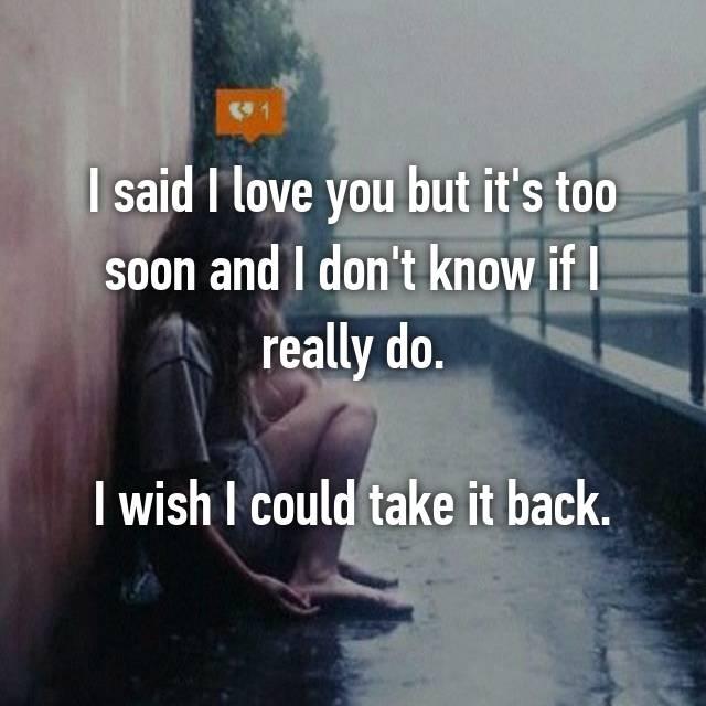 du også jeg snart hvad? Jeg sagde nu kærlighed
