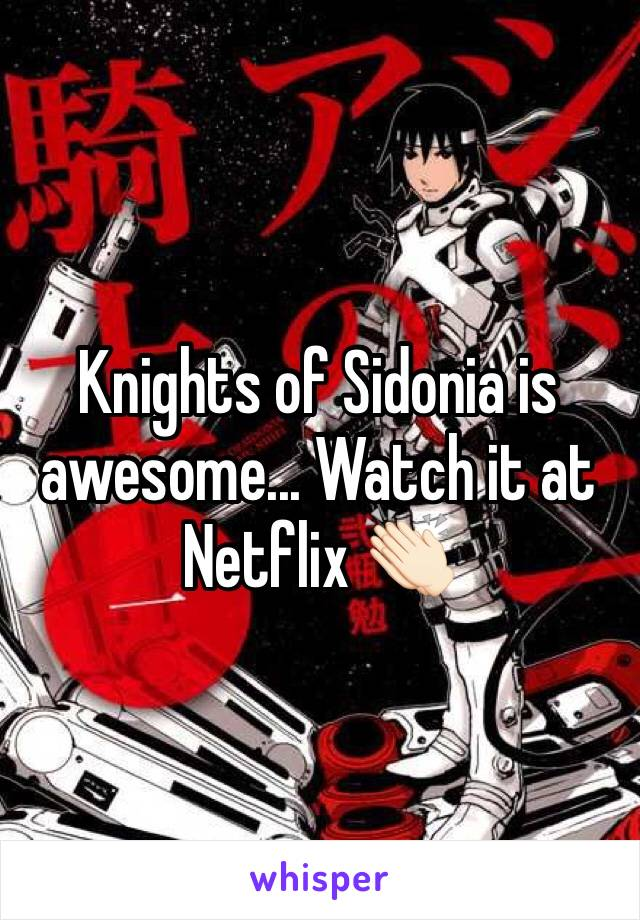 Knights of Sidonia is awesome... Watch it at Netflix 👏🏻