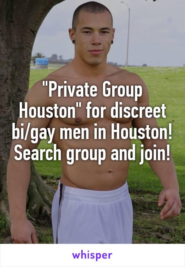 Discreet gay men