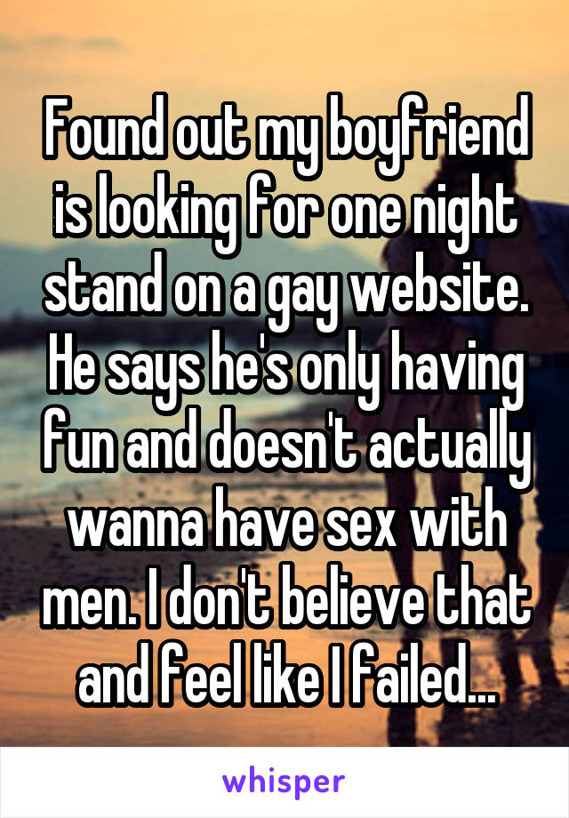 one night stand websites